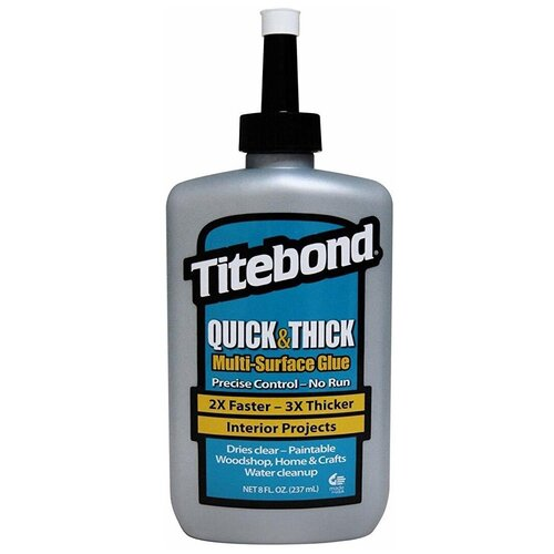 Клей Quick and Thick, 237 мл, TITEBOND США, TTB2403