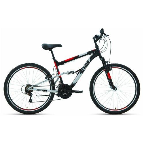 """Горный (MTB) велосипед ALTAIR MTB FS 26 1.0 (2020) черный 16"""" (требует финальной сборки)"""