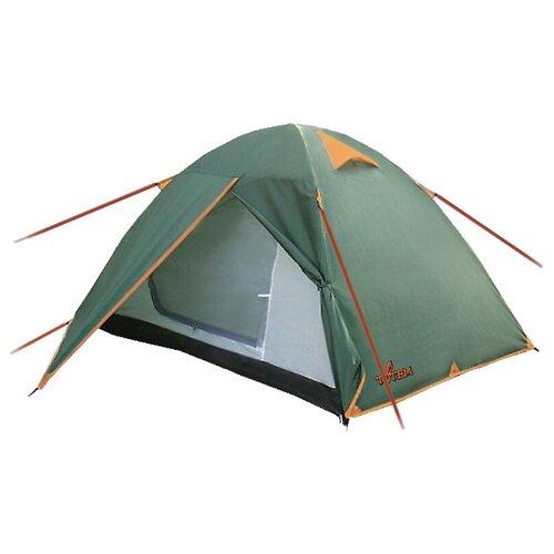 Палатка Totem Trek 2 V2 зеленый