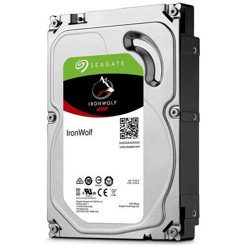 Жесткий диск Seagate IronWolf 10 TB ST10000VN0008 жесткий диск seagate ironwolf 3 tb st3000vn007