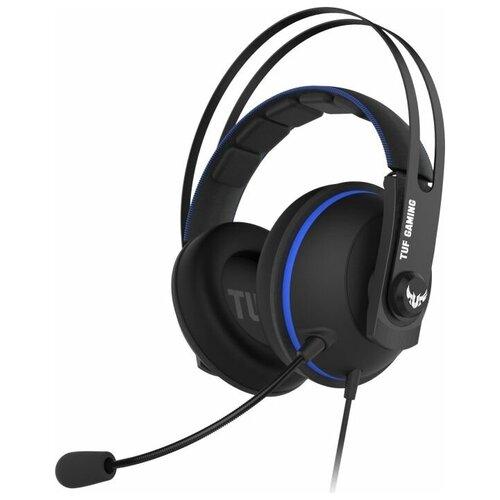Компьютерная гарнитура ASUS TUF Gaming H7 Core черный/синий