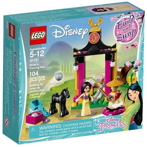 Купить Конструктор LEGO Disney Princess 41151 Учебный день Мулан, Конструкторы