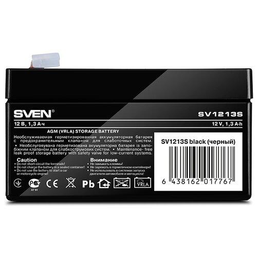 Аккумуляторная батарея SVEN SV1213S 1.3 А·ч