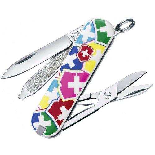 Нож многофункциональный VICTORINOX Classic SD VX Colors