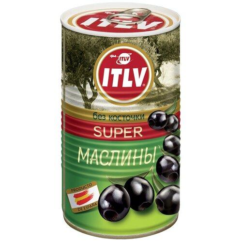 Маслины ITLV черные без косточки Super 370 мл itlv маслины super с косточкой