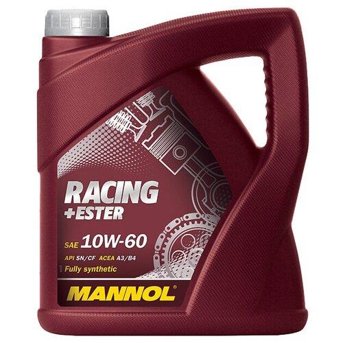 Фото - Синтетическое моторное масло Mannol Racing+Ester 10W-60 4 л минеральное моторное масло mannol ts 3 shpd 10w 40 60 л