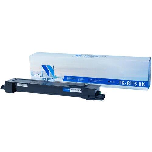 Фото - Картридж NV Print TK-8115 Black для Kyocera, совместимый картридж nv print tk 865 cyan для kyocera совместимый