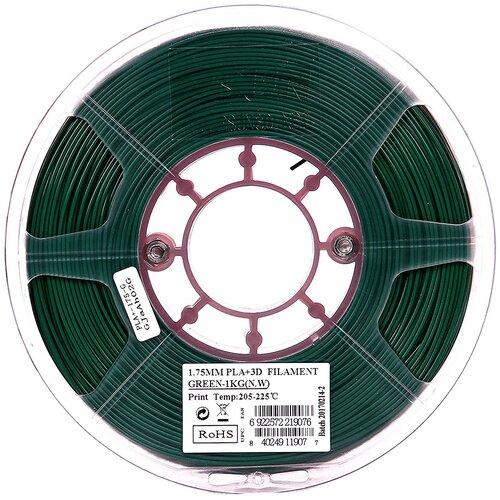 Фото - PLA+ пруток ESUN 1.75 мм, 1 кг, зеленый pla пруток esun 1 75 мм желтый 1 кг
