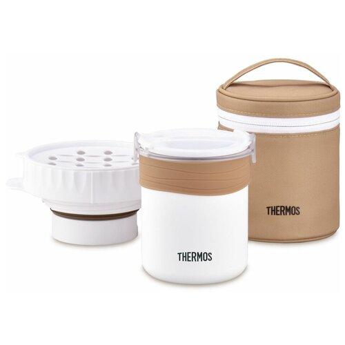Термос для еды Thermos JBS-360, 0.36 л белый/бежевый