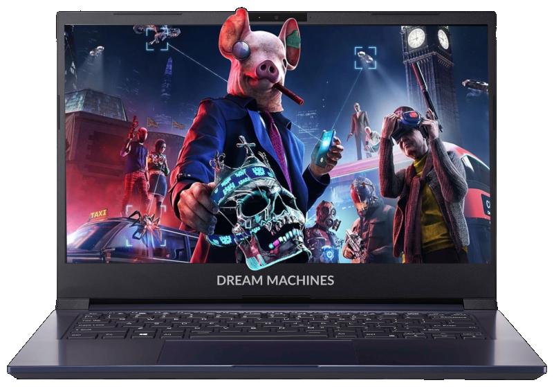 "Ноутбук Dream Machines G1650-14RU50 (Intel Core i5 1135G7 2400MHz/14""/1920x1080/8GB/500GB SSD/NVIDIA GeForce GTX 1650 4GB/Без ОС) — купить по выгодной цене на Яндекс.Маркете"