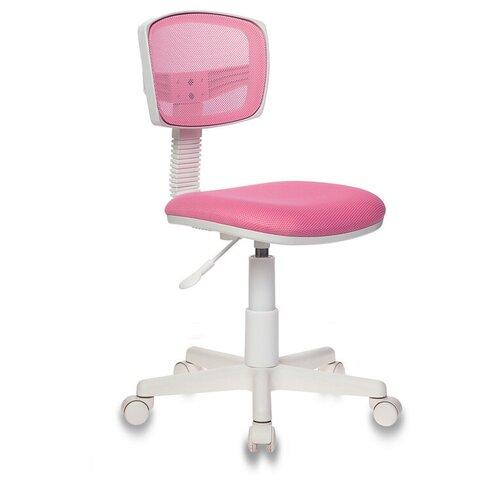 Компьютерное кресло Бюрократ CH-W299 детское, обивка: текстиль, цвет: TW-13A розовый компьютерное кресло бюрократ ch w797 abstract детское обивка текстиль цвет мультиколор абстракция