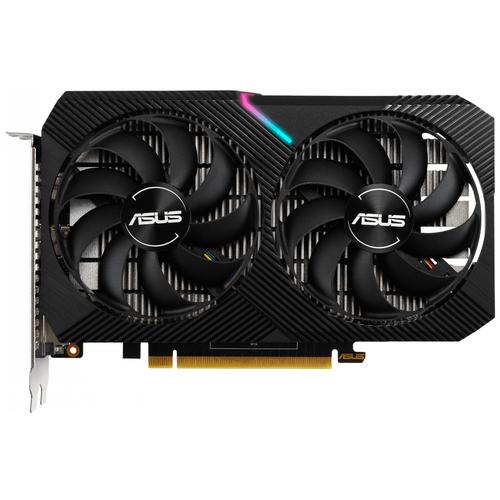 Видеокарта ASUS DUAL GeForce GTX 1650 MINI OC 4GB (DUAL-GTX1650-O4GD6-MINI), Retail