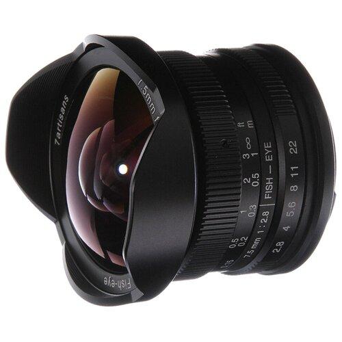 Фото - Объектив 7artisans 7.5mm f/2.8 Canon M объектив 7artisans 18mm f6 3 canon eos m mount