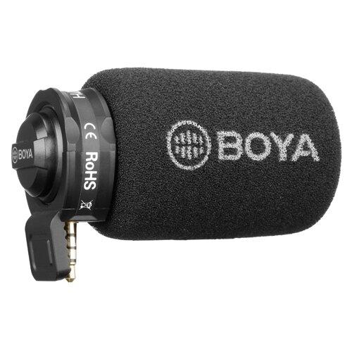 Микрофон BOYA BY-A7H, черный