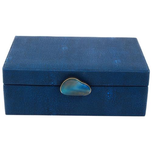 Русские подарки Шкатулка 238110 синий шкатулка декоративная русские подарки русские подарки mp002xu02r42