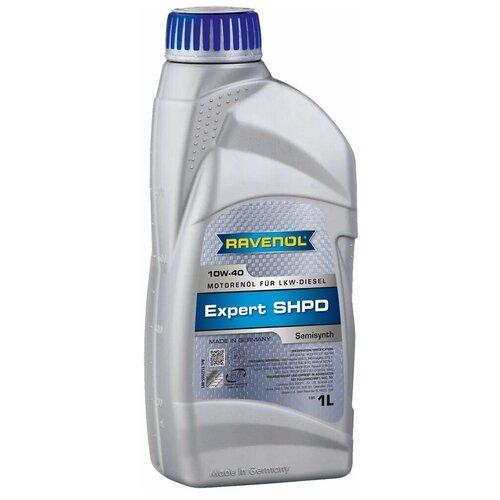Фото - Полусинтетическое моторное масло Ravenol Expert SHPD 10W-40 1 л минеральное моторное масло mannol ts 3 shpd 10w 40 60 л