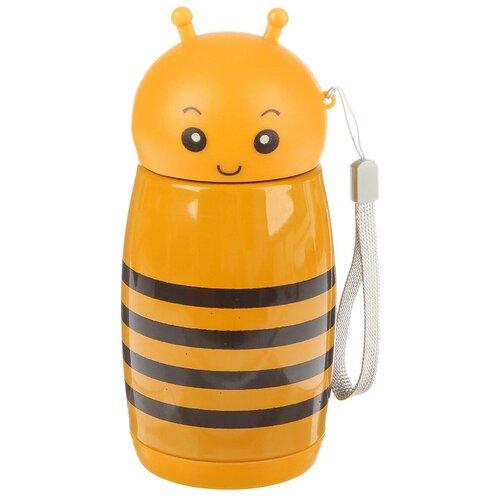 Классический термос TUNDRA Пчёлка, 0.28 л желтый