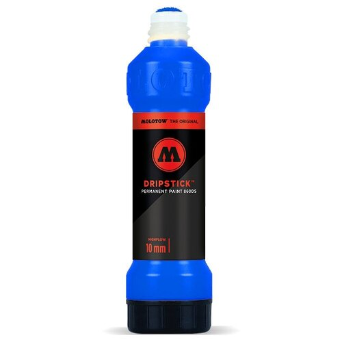 Купить Маркер сквизер Molotow Dripstick 860003 Цвет синий 10мм 70мл, Фломастеры и маркеры