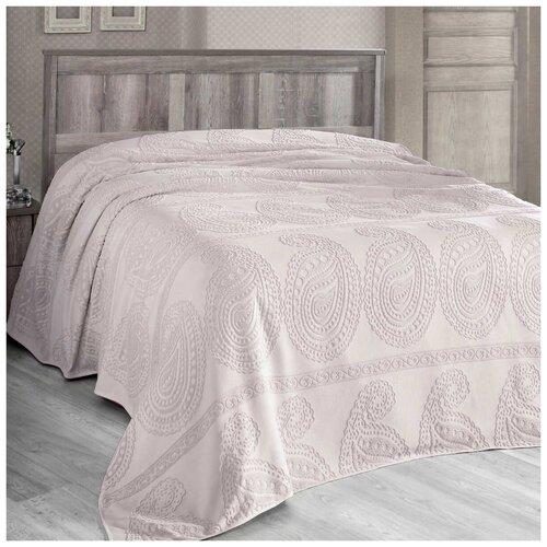 Покрывало Arya Misley 160 х 220 см, экрю arya набор полотенец bahar b птицы кухонное 40х60 см экрю розовый