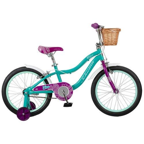 Детский велосипед Schwinn Elm 18 голубой (требует финальной сборки)