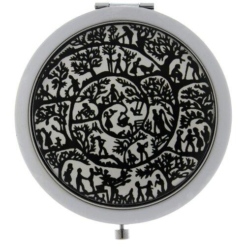 Купить Карманное зеркальце TINA BOLOTINA Спираль Жизни