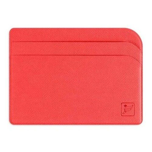 Защитный футляр для карт / Картхолдер / Кредитница чехол / Держатель для кредитных карт / Визитница Flexpocket красная недорого