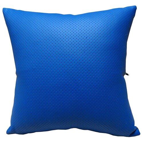 Подушка декоративная Тематика 30 х 30 см синий/черный