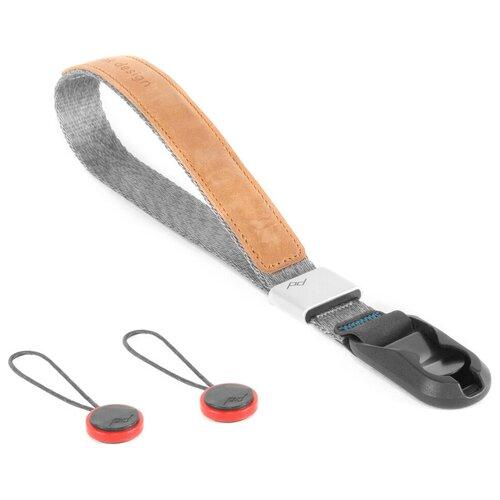 Фото - Ремень Peak Design Wrist Strap Cuff V3.0 на запястье, серебристый ремень на запястье fujifilm gb 001 grip belt