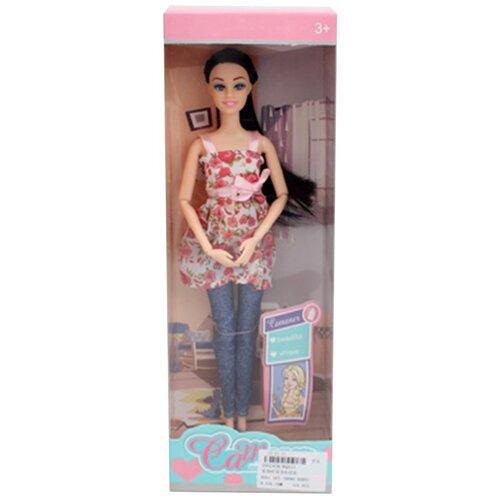 Купить Игровой набор Маленькая мама в комплекте кукла 30см, пупс Shantoy Gepay KQ111, Наша игрушка, Куклы и пупсы