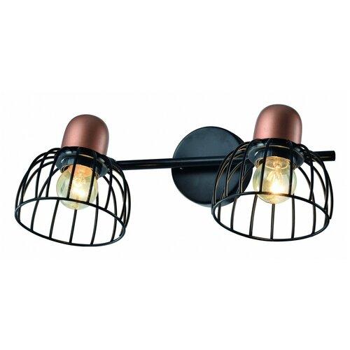Фото - Настенный светильник Rivoli Adro Б0044776, E27, 80 Вт настенный светильник rivoli adro б0044775 40 вт