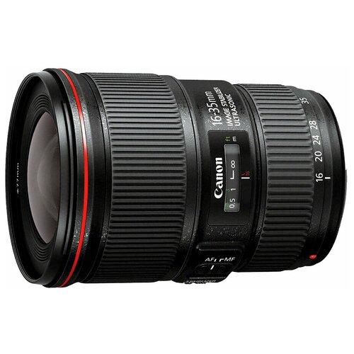 Объектив Canon EF 16-35mm f/4L IS USM черный