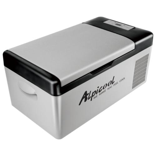 Автомобильный холодильник Alpicool С15 серый