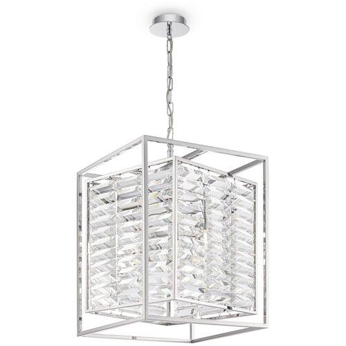 Потолочный светильник MAYTONI Tening MOD060PL-04CH, E14, 240 Вт, кол-во ламп: 4 шт., цвет арматуры: хром, цвет плафона: бесцветный