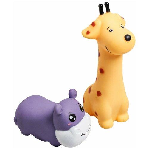 Крошка Я / Развивающая игрушка / Игрушка для ванной / Набор игрушек для купания, 6 шт крошка я игрушка комфортер для новорождённых игрушка для детей первый подарок пинетки