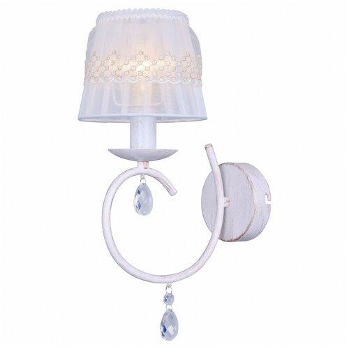 Фото - Настенный светильник Toplight Camilla TL1135-1W, 40 Вт настенный светильник toplight gertrude tl1138 1w 40 вт