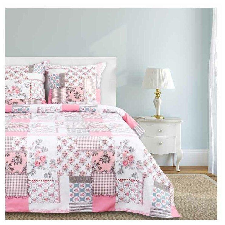 Постельное белье 2-спальное Этель Розовый прованс, бязь, 70 х 70 см — купить по выгодной цене на Яндекс.Маркете