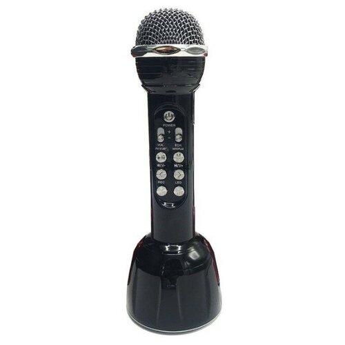 Беспроводной караоке-микрофон WS-568 (черный)