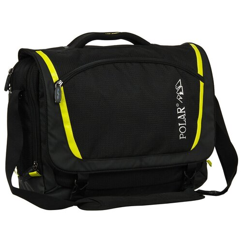 Сумка POLAR Д1415 черный сумка polar polar po001bwfyur2