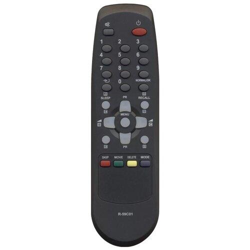 Фото - Пульт ДУ Huayu R-59C01 для телевизора Daewoo KR-1420Z/KR-15G1F1, черный пульт huayu для daewoo r 48a01