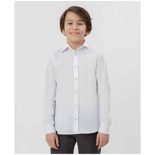 Рубашка Button Blue размер 134, белый