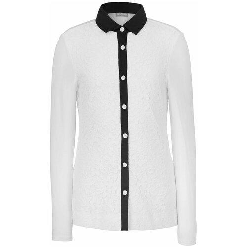 Рубашка Gulliver размер 134, белый