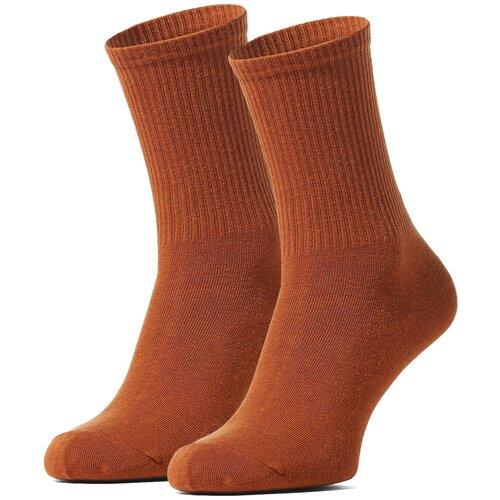 Носки Красная жара Искусство не преступление, размер 36-40, коричневый