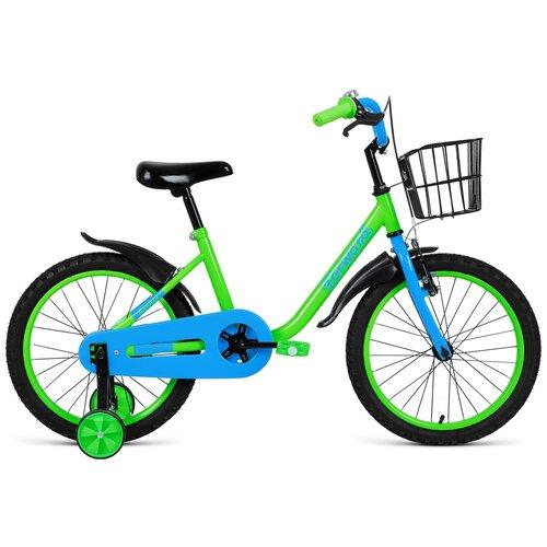 Фото - Детский велосипед FORWARD Barrio 18 (2021) зелeный (требует финальной сборки) детский велосипед forward barrio 18 2020 красный требует финальной сборки