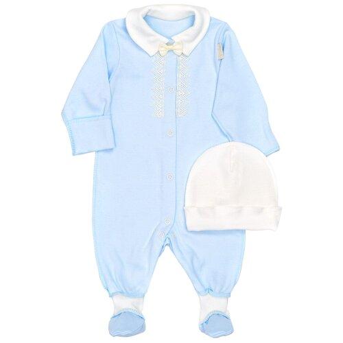 Фото - Комплект одежды Трия размер 62-68, голубой комплект одежды leader kids размер 68 голубой