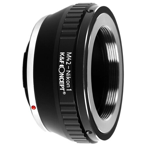 Фото - Адаптер K&F Concept для объектива M42 на Nikon 1 KF06.116 bresser для камер nikon m42