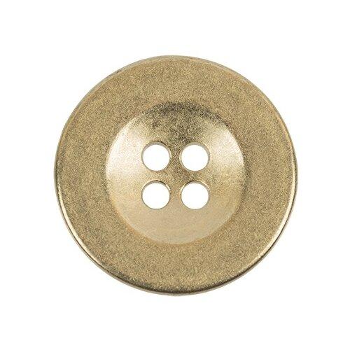 Пуговицы металлические Gamma 20 мм, 24 шт, №24, бронзовые (MB 0209)