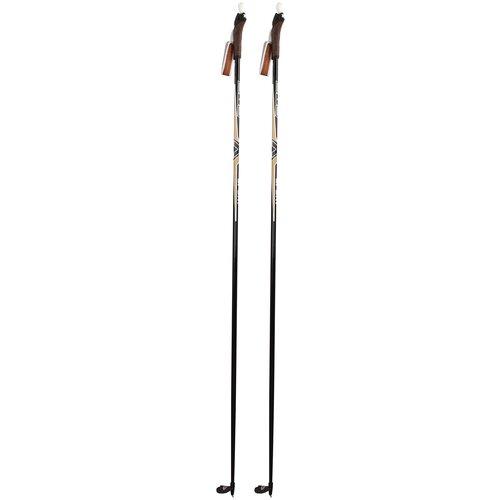 Фото - Лыжные палки STC Sport черный 170 лыжные палки stc алюминий с твердосплавным наконечником stc 170 170 см