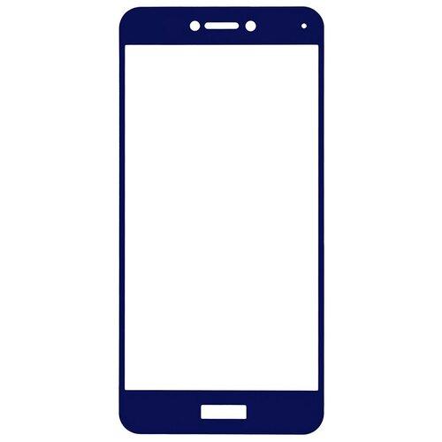 Защитное стекло Gosso FULL SCREEN для Huawei Honor 8 Lite/P8 Lite (2017) синий