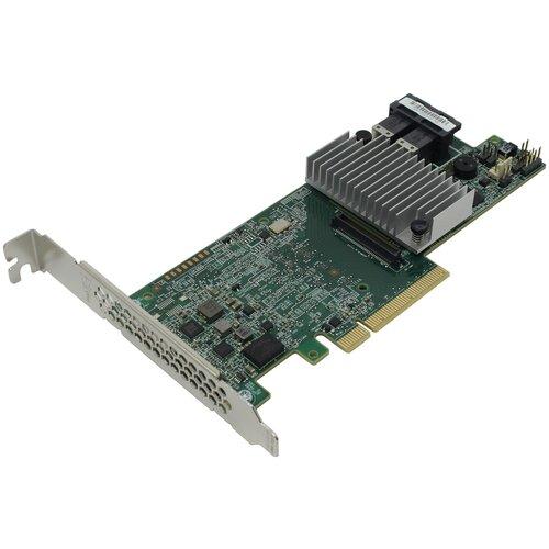Фото - Контроллер SAS/SATA RAID LSI Logic MegaRAID SAS 9361-8i 2GB зеленый sas sata raid контроллер