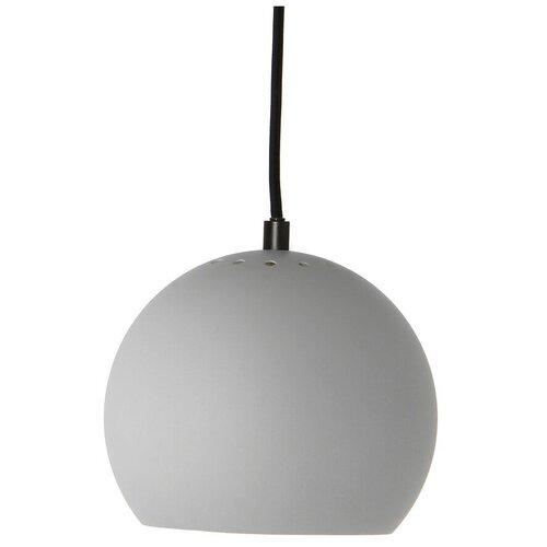 Лампа подвесная ball, светло-серая, матовое покрытие